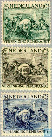 Rembrandtzegels 1930