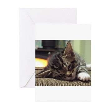 Cozy With Topaz Greeting Cards
