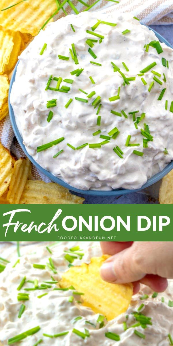 This Homemade French Onion Dip Recipe Will Make You Ditch The Packet For Good It S So Creamy And T French Onion Dip Homemade French Onion Dip Onion Dip Recipe