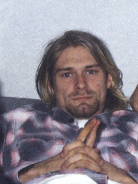 Kurt Cobain during an interview in London, UK - August 20, 1991.