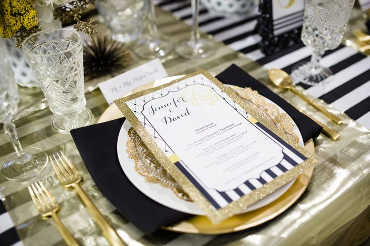 gold dinnerware and goblets   ... doilies, cut glass salad plates, gold flatware, and crystal goblets