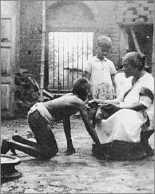 The most famous wolf-children are the two girls captured in October 1920 from a huge abandoned ant-hill squatted by wolves near Godamuri in the vicinity of Midnapore, west of Calcutta, by villagers under the direction of the Rev JAL Singh, an Anglican missionary. The mother wolf was shot.