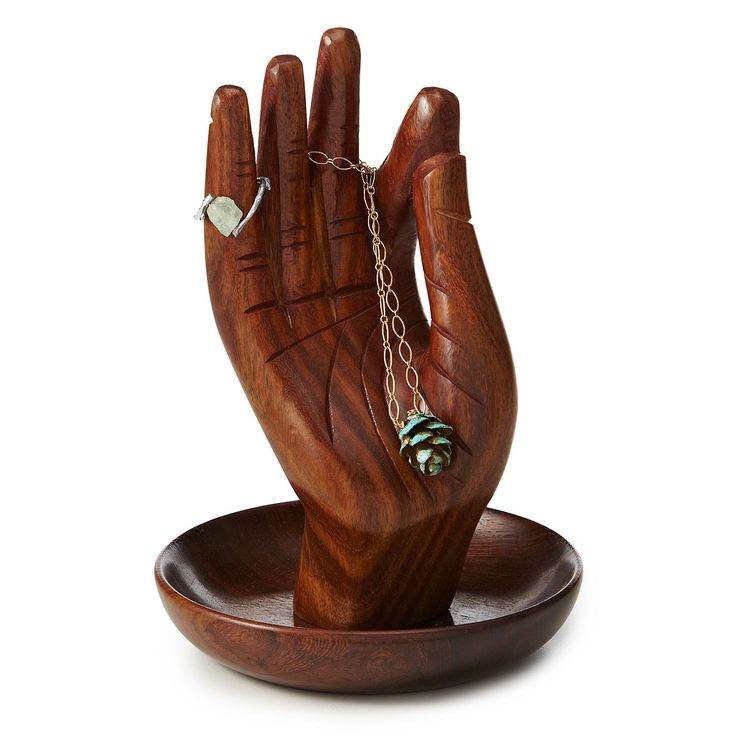 HAND OF BUDDHA JEWELRY STAND | ring holder, necklace | UncommonGoods