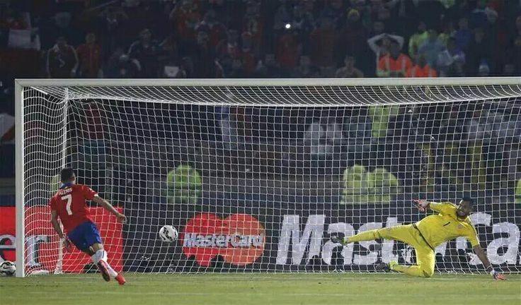 Gol del título , Chile campeón de América #Chile #CopaAmerica #Campeon