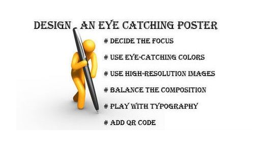 Design An Eye Catching Poster