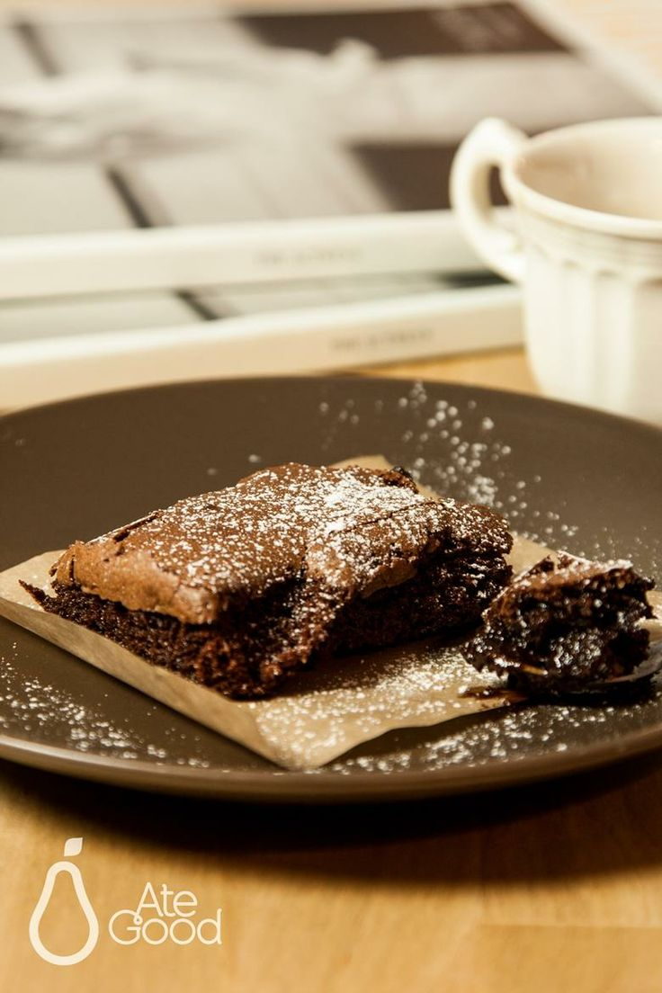 Brownies with dried plums