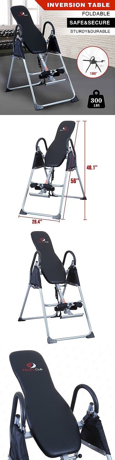 Inversion Tables 112954: Inversion Table Black Fitness Chiropractic Back Pain Relief Reflexology -> BUY IT NOW ONLY: $108.9 on eBay!