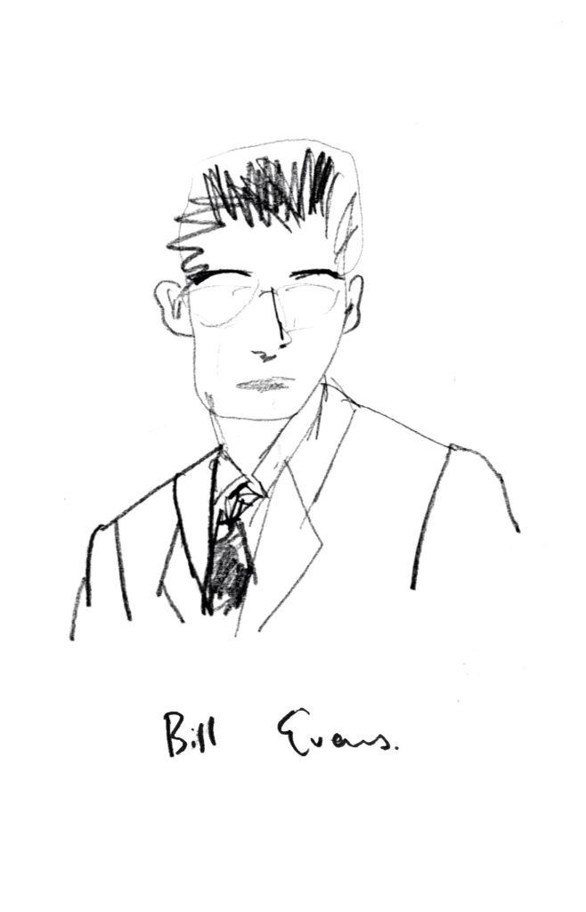 Bill Evans by Jane Lee