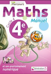 Manuels Maths Cycle 4, Cahiers d'exercices Maths iParcours