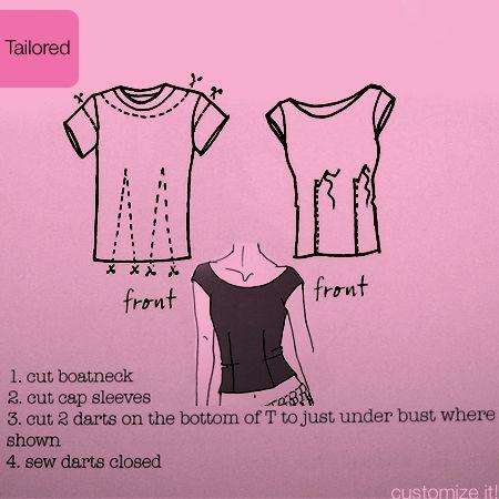HandMadera: Customize your T-shirts (DIY)
