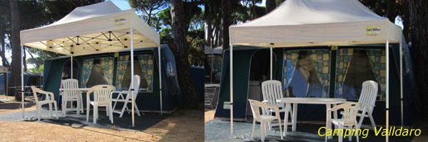 Een tent huren in Spanje? Family Holidays heeft voor u een compleet ingerichte bungalowtent klaarstaan. www.familyholidays.nl