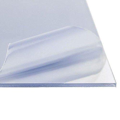 "Acrylic Plexiglass Sheet 3/16"" x 18"" x 36"", UV, Abrasion Resistant, Anti-Reflective  Anti-Reflective Acrylic Plastic Sheet  Thickness: .177 inch  Width: 18 inches  Length: 36 inches  Color: Clear | UV, and Abrasion Resistant, Anti-Static"