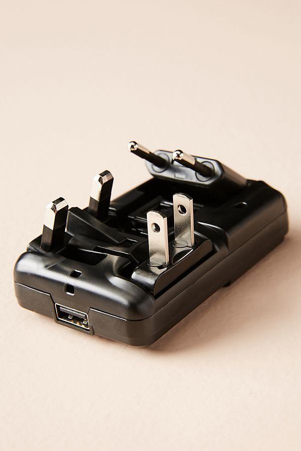 Slide View: 2: Knomo World Travel Power Adapter