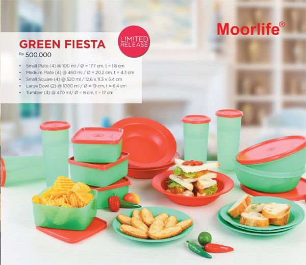 Moorlife Green Fiesta