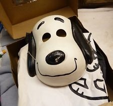 Vintage Peanuts Snoopy Halloween Costume still in the box , hard plastic