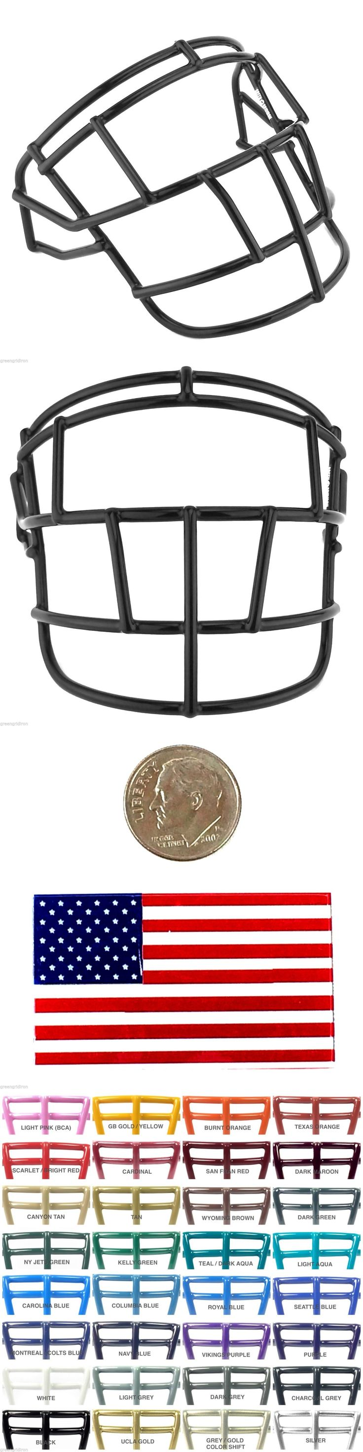 Helmets and Hats 21222: Schutt Super Pro Egjop Football Facemask - 30+ Colors Available -> BUY IT NOW ONLY: $30 on eBay!