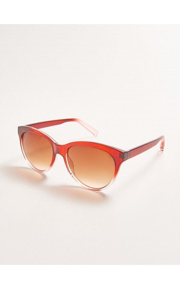 Okulary przeciwsłoneczne, AKCESORIA, brĄzowy, SINSAY