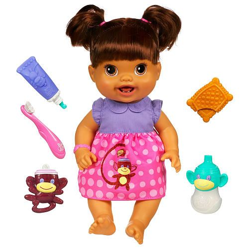Baby Alive Baby S New Teeth Doll Brunette Hasbro