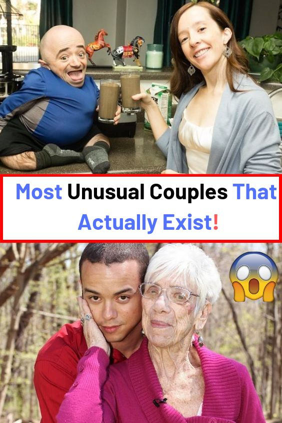 Most Unusual Couples That Actually Exist! #Most #Unusual #Couples #Actually #Exist