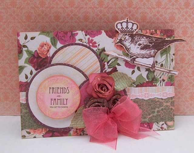 Artfull Crafts - Lady Rose collection from Kaisercraft