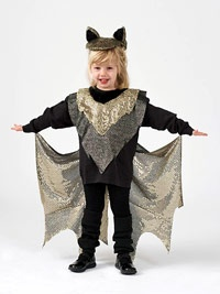 Carter's Halloween Costume This Year! Make an Easy Kid's Bat Halloween Costume
