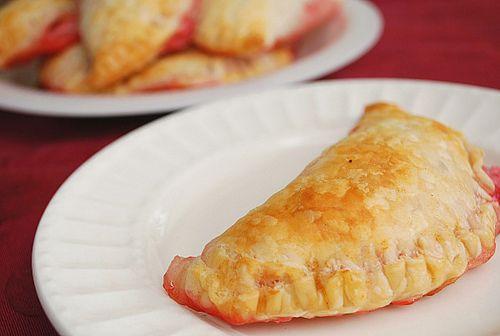 Strawberry Cream Cheese Empanadas.
