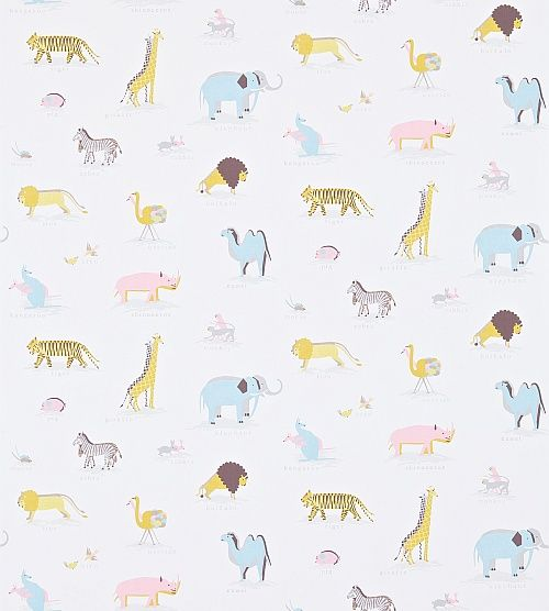 Two by Two Neapolitan wallpaper by Sanderson