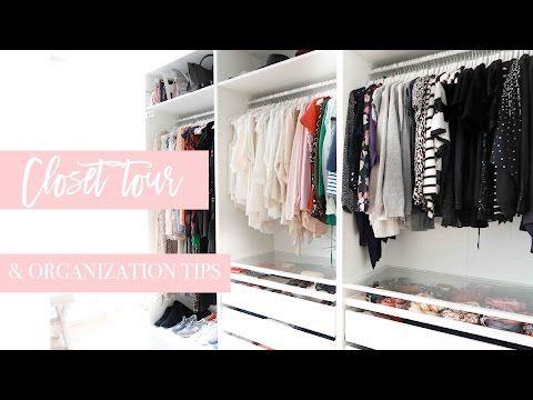 CLOSET TOUR! | + organization tips | Style playground - YouTube