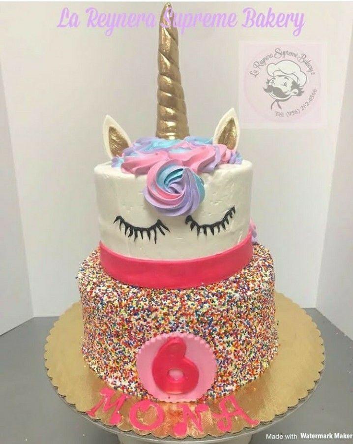 My Daughter S Magical Unicorn Birthday Cake Happy Six Birthday