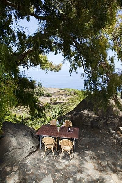 Finca el Quinto, Tenerife. Situated in peaceful countryside, our properties each have their own private terrace http://www.organicholidays.com/at/2709.htm