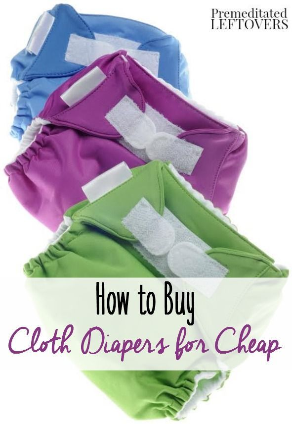 How to Cloth Diaper Without Breaking the Bank- There are many ways to save money while building your cloth diaper stash. Learn how with these frugal tips - also includes links for a DIY idea and sewing tutorial options.