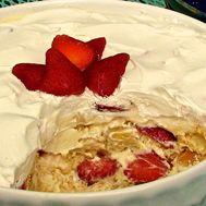 Strawberry Banana Pudding