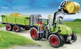 Playmobil Τρακτέρ Με Ρυμουλκούμενη Καρότσα (5121)- 39.99