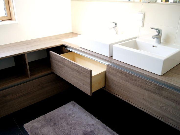 material eiche sanremo terra Aluminium  http://krumhuber-design.at/projekt/badezimmer-fl/