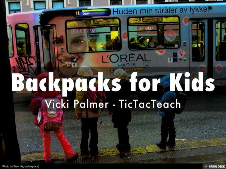 What should you consider when choosing a backpack for your preschooler?  Learn more at: http://tictacteach.com/backpacks-for-kids/