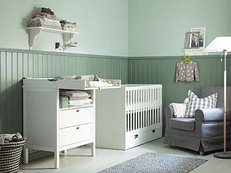 СТУВА детская кроватка с ящиками