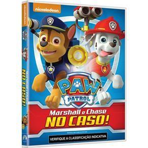 DVD - Paw Patrol: Marshall e Chase no Caso!
