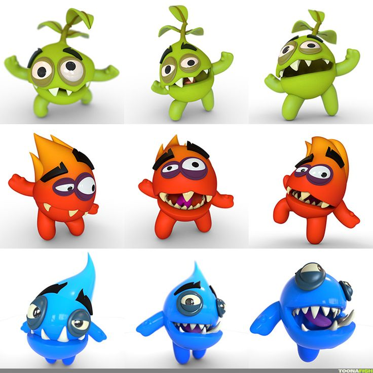3D Character Karakter animatie animation EatMe