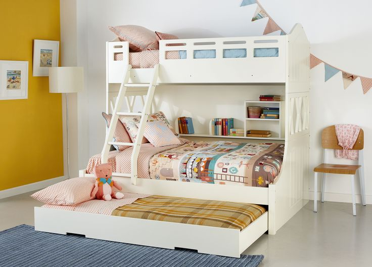 Snow bunk w single trundle kids stuff pinterest for Bedrooms and more