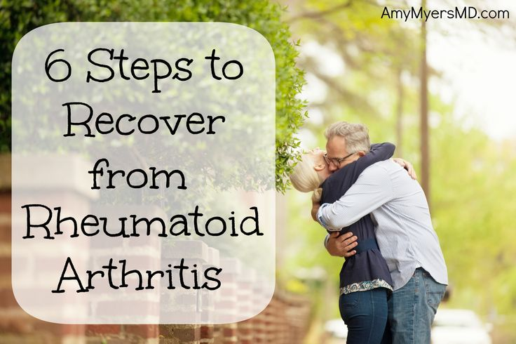 6 Steps to Recover from Rheumatoid Arthritis: Learn how to recover from Rheumatoid Arthritis without prescription medications.