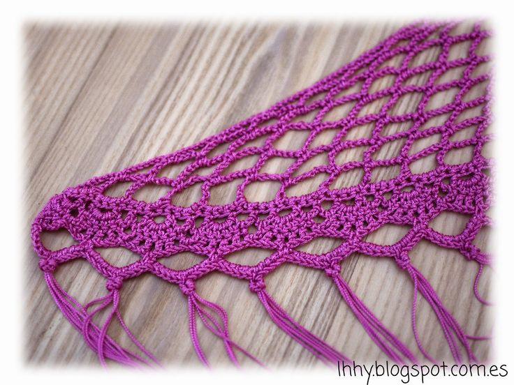 lhhy (lo he hecho yo): Otra forma de disfrutar el crochet: mantoncillos de flamenca.