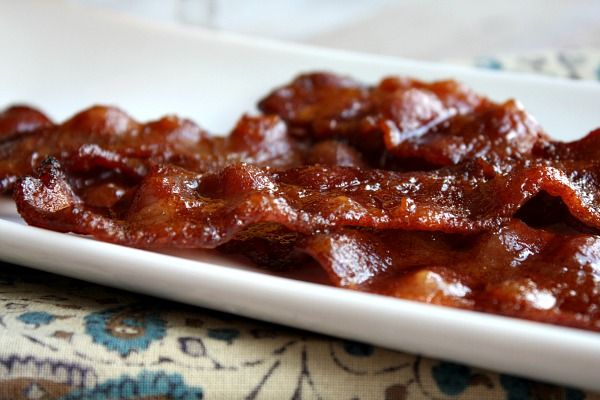 Candied Bacon - can I just say YUM!