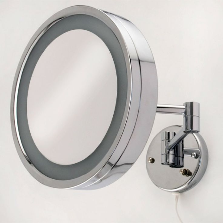 Halo Large Swinging Lighted Vanity Mirror. 17 best ideas about Extendable Bathroom Mirrors on Pinterest