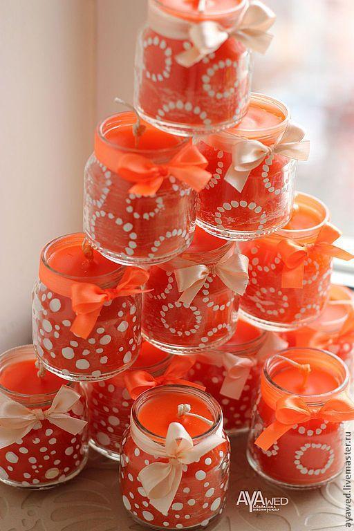 """Купить Свечи ручной работы """"Весна"""" - свечи ручной работы, Свечи, свечи ароматические"""