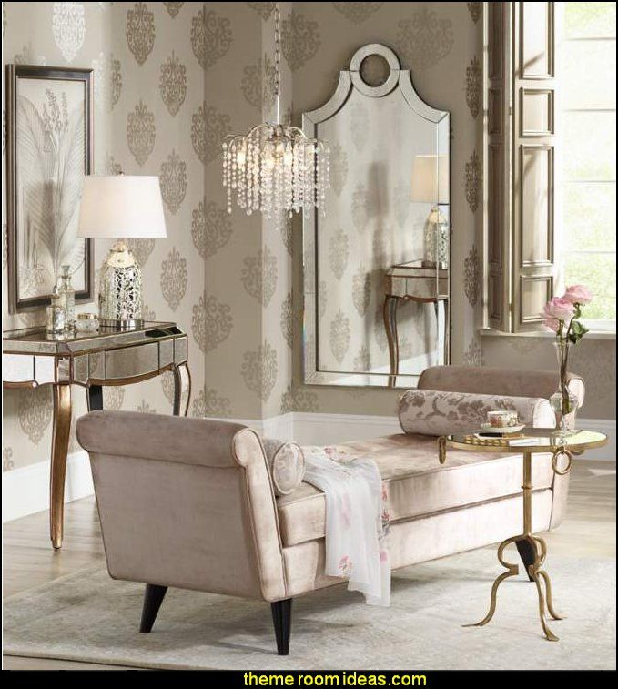 Decorating Theme Bedrooms Maries Manor Hollywood Glam Beach House Style Bedroom Decor D In 2020 Glam Living Room Glamourous Bedroom Hollywood Glam Living Room Hollywood glamour living room decor