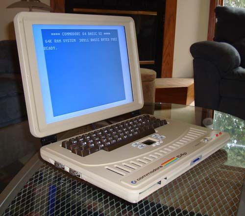 the C64 Laptop - i want it - i want it - i want it - i want it- i want it