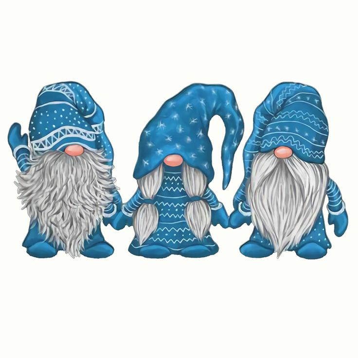 Christmas Gnomes PNG Chilling With My Gnomies Clipart