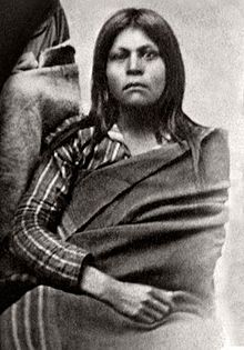"""""""A portrait of a Tongva woman, possibly Juana Maria, the last survivor of her tribe and the last known speaker of Nicoleño."""""""