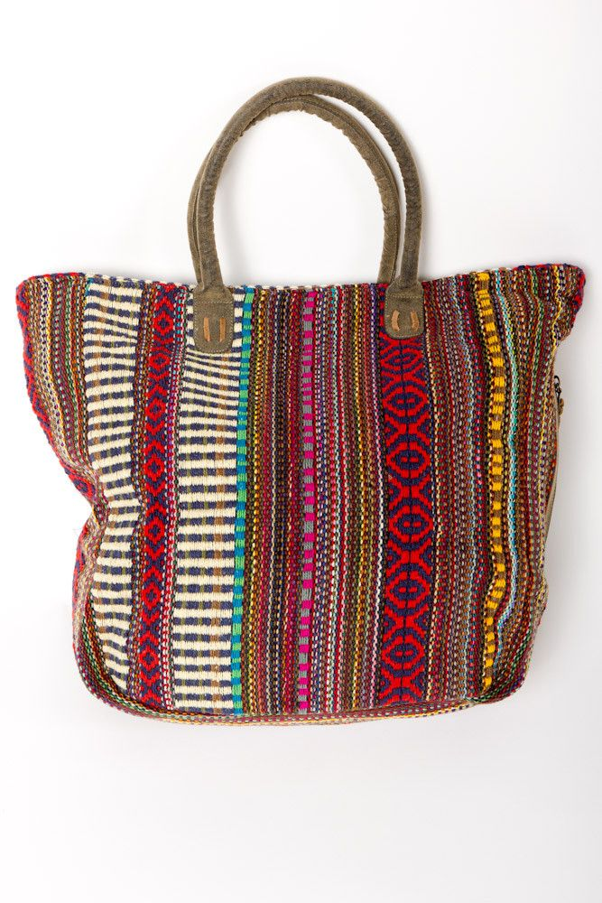 Woven Tote - so want one of these for fall!
