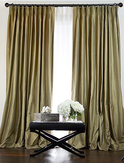 custom silk drapes - Silk Drapes
